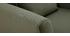 Fauteuil scandinave déhoussable tissu effet velours kaki OSLO