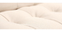 Fauteuil scandinave en tissu naturel et chêne  YUMI
