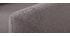 Fauteuil scandinave gris anthracite pieds bois clair  YNOK