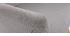 Fauteuil scandinave gris clair et bois AMADEO - Miliboo & Stéphane Plaza
