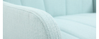 Fauteuil scandinave menthe à l'eau ARYA