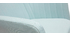 Fauteuil scandinave menthe à l'eau et pieds chêne ALEYNA