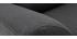 Fauteuil scandinave tissu gris anthracite ALICE
