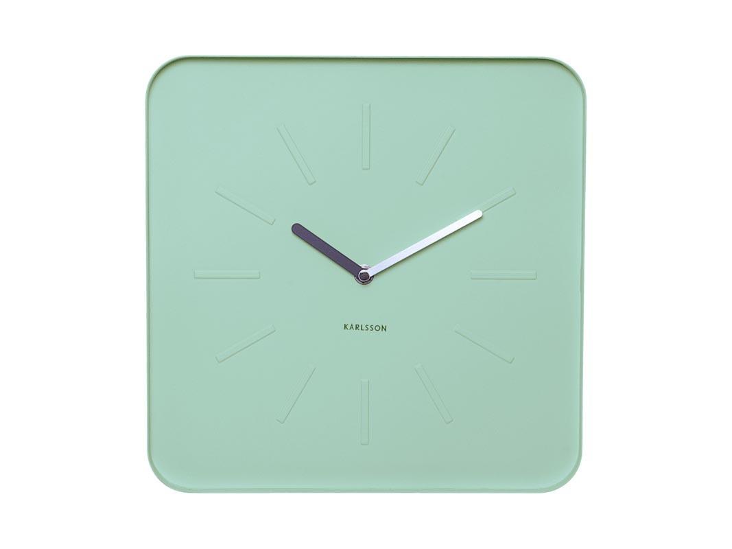 Horloge design Vert pastel SIVA