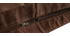 Housse de pouf géant marron BIG MILIBAG