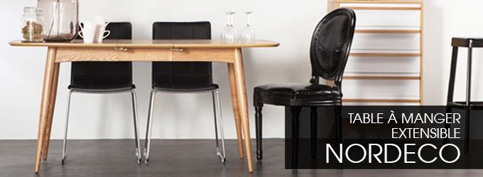 table rallonge et table extensible pas cher toutes nos tables miliboo. Black Bedroom Furniture Sets. Home Design Ideas