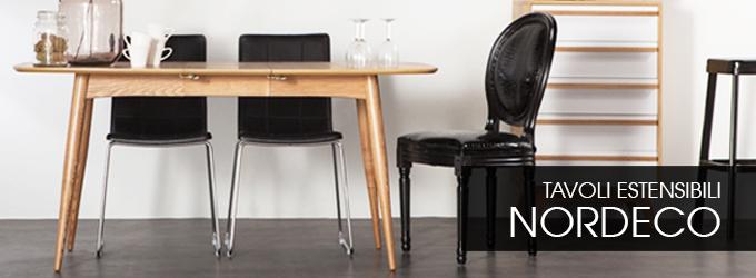 Tavolo allungabile ed estensibile economico tutti i - Tavolo scandinavo ...