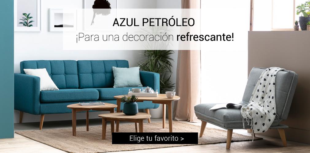 AZUL PETRÓLEO Para una decoración refrescante