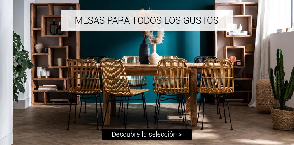 MESAS PARA TODOS LOS GUSTOS