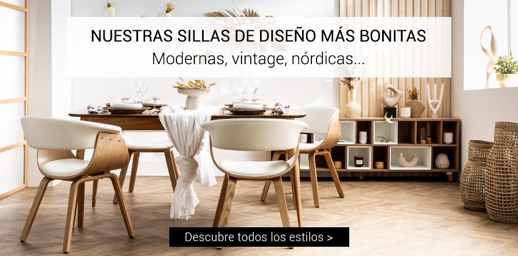 NUESTRAS SILLAS DE DISEÑO MÁS BONITAS