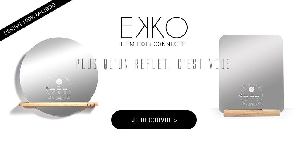Le miroir connecte by Miliboo