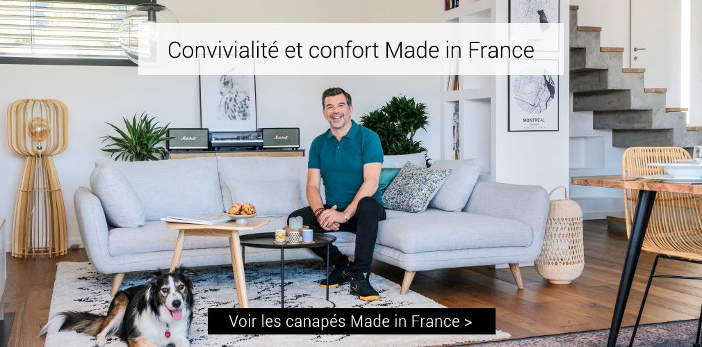 Convivialité et confort Made in France