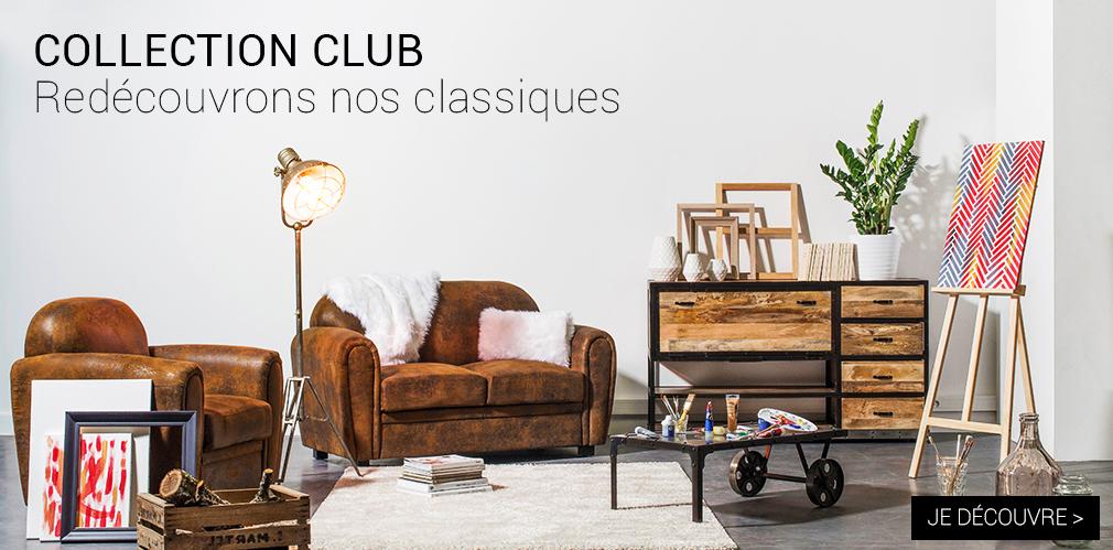 Nouvelle collection club