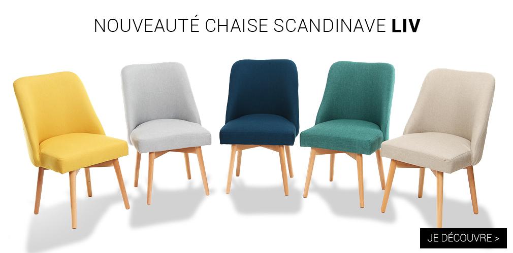nouveaut�s chaises liv