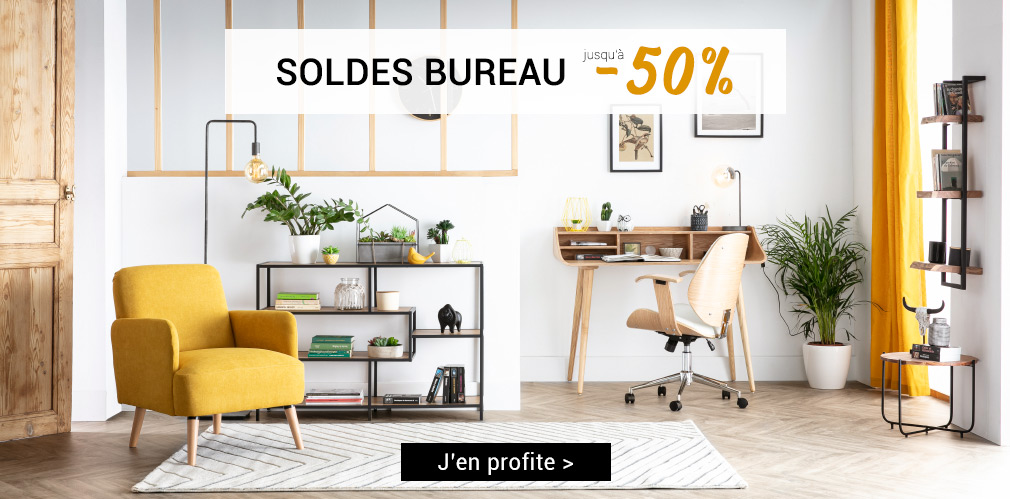 SOLDES bureau jusqu'à -50%