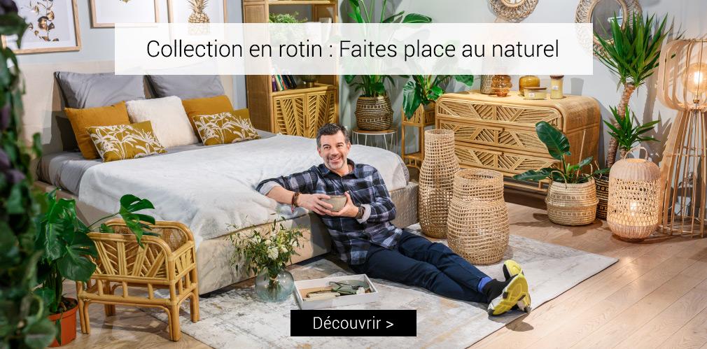 Collection en rotin : faites place au naturel