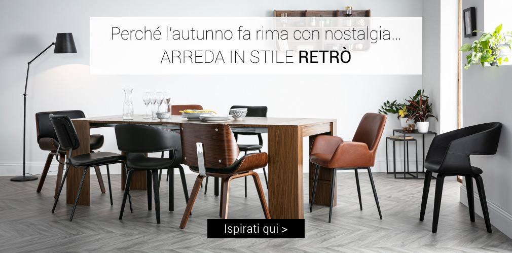 ARREDA IN STILE RETRÒ