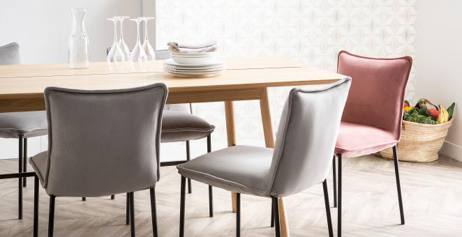 Chaises et tabourets de bar design et pas cher miliboo for Soldes chaises transparentes