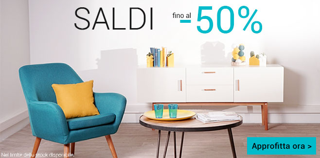 Miliboo saldi al 50 su tutto super offerte for Saldi mobili 2016