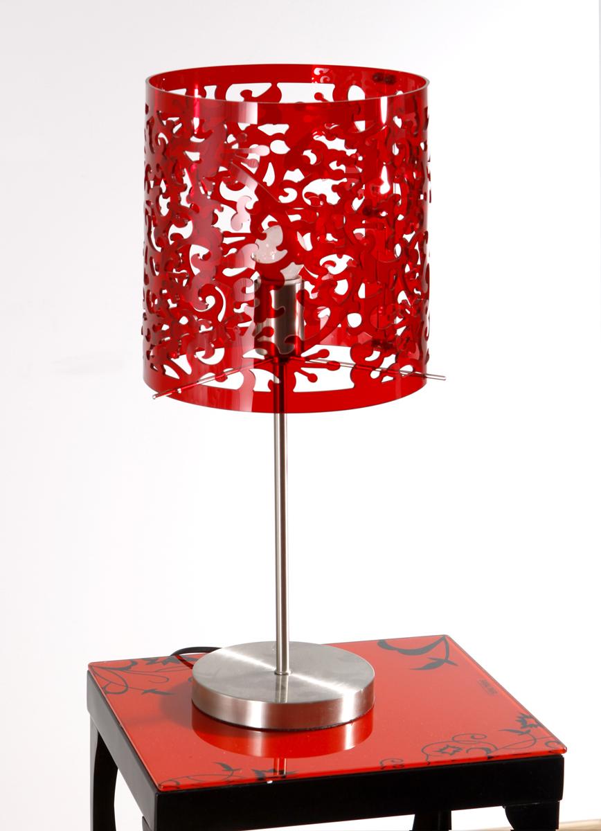 Lampe rouge moderne oslo cette superbe lampe oslo est parfaite en