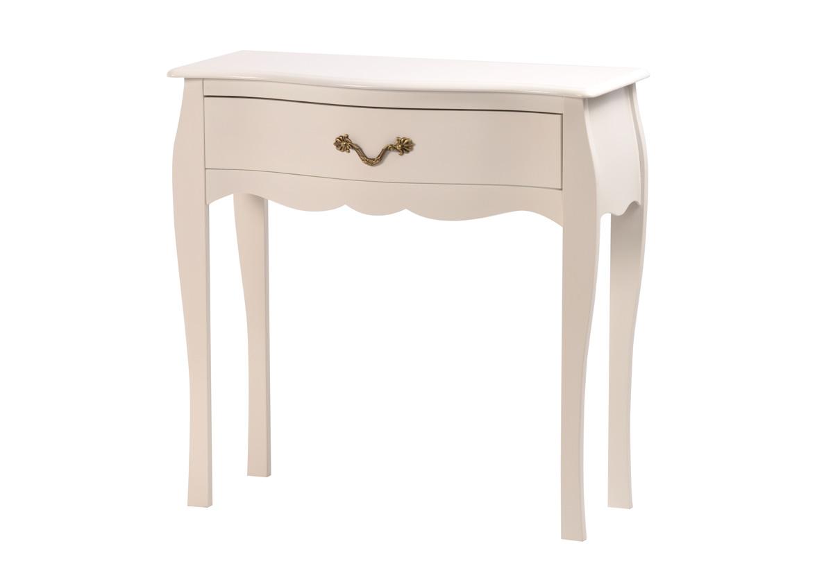 Table de chevet baroque tous les objets de d coration - Table de nuit blanche ...