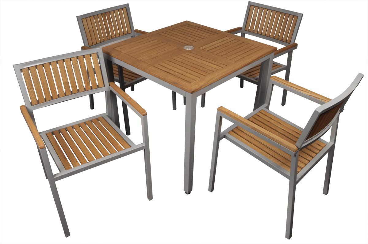 Table de jardin naturel tous les objets de d coration for Poltroncine in ferro da esterno