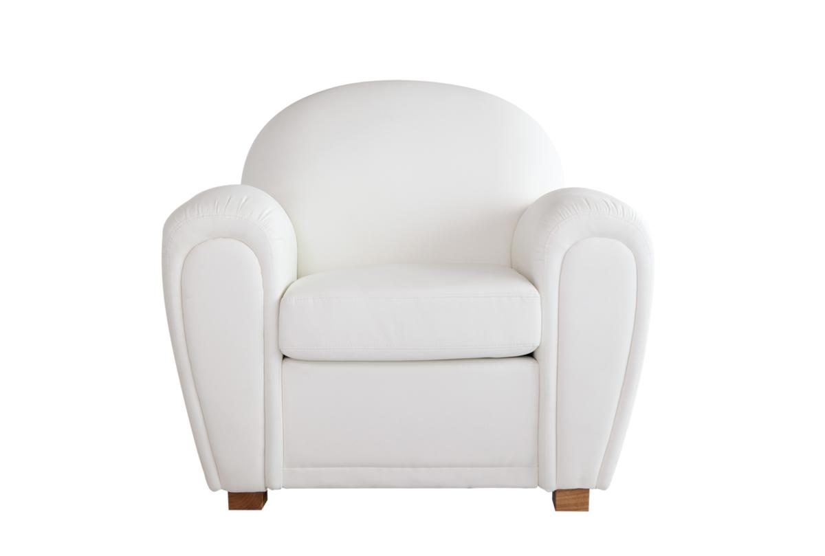 Fauteuil blanc - Fauteuil blanc design pas cher ...