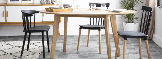 Manger Table Industriel Et Miliboo À Avec Loft 4qAjL53R