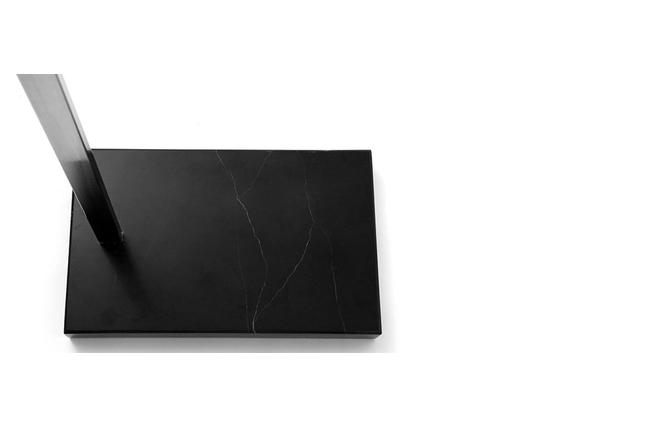 Lampadaire design blanc klara miliboo for Miroir klara