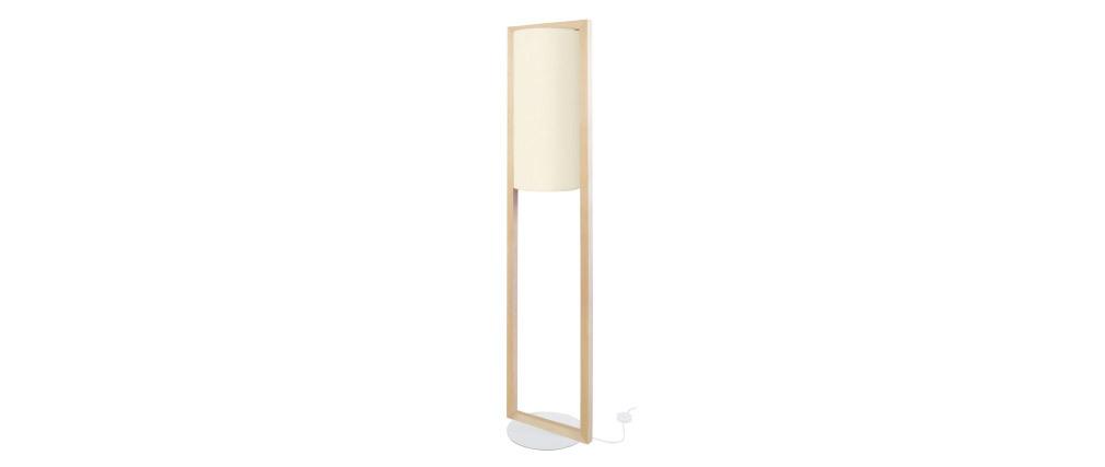 Lampadaire design en bois H165 cm HATHA