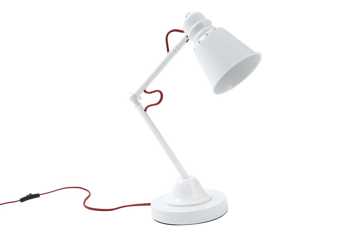 Lampe poser design electra comparer les prix des lampe for Lampe a poser blanche