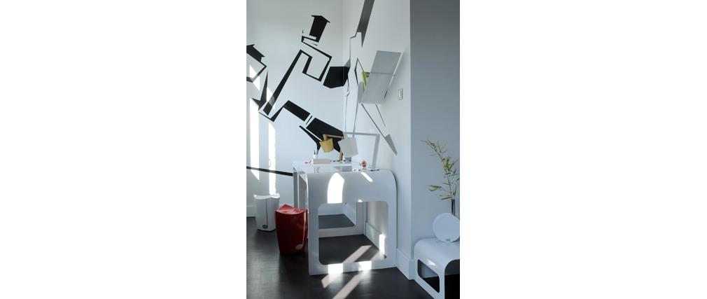 Lampe à poser Design  CROSSFADE Magenta
