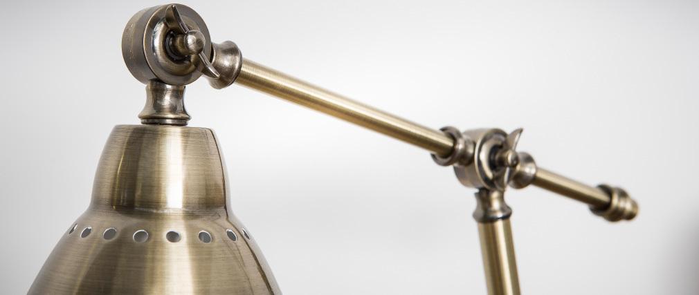 Lampe à poser design métal laiton PROJECT