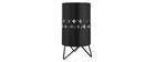 Lampe à poser design métal noir SMART