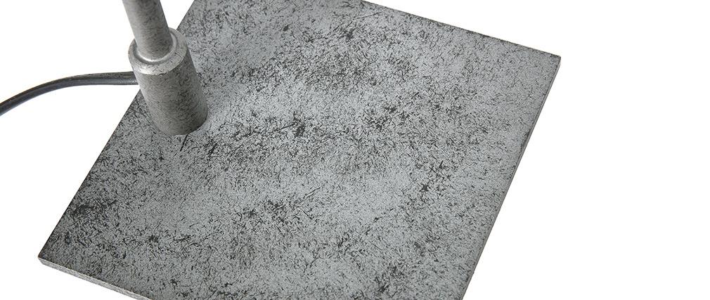 Lampe à poser industrielle en métal vieilli GARBI