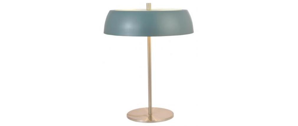 Lampe poser moderne grise kopen miliboo for Lampe a poser grise