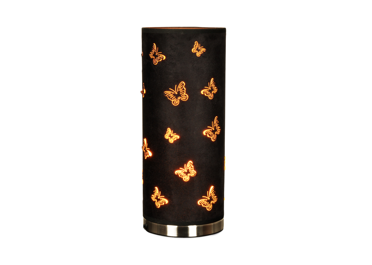 Lampe poser moderne papillons butterfly miliboo for Lampe moderne a poser
