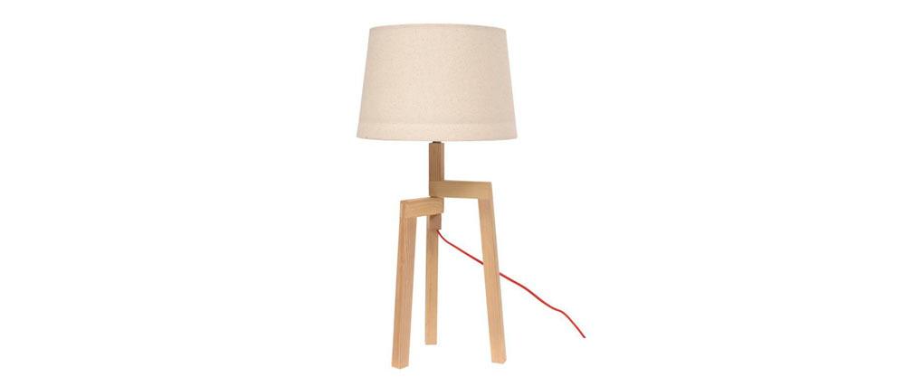 Lampe à poser nordic  WOODY