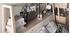 Lit 140x200 scandinave avec rangements bois et blanc EASY