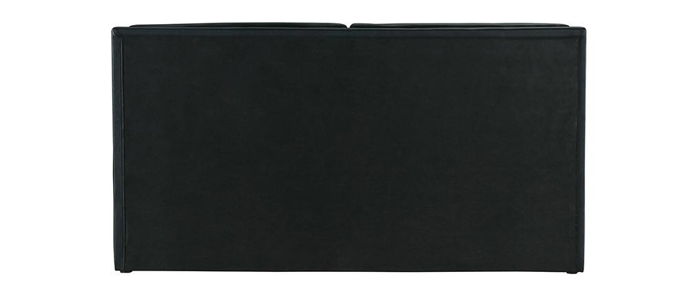 Lit 160x200 2 places noir JOAO