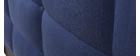 Lit adulte 140x200 cm bleu foncé EMERY