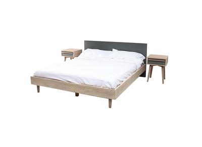 lit adulte d couvrez tous nos lits adulte pas cher miliboo. Black Bedroom Furniture Sets. Home Design Ideas