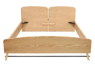 lit adulte blanc miliboo. Black Bedroom Furniture Sets. Home Design Ideas