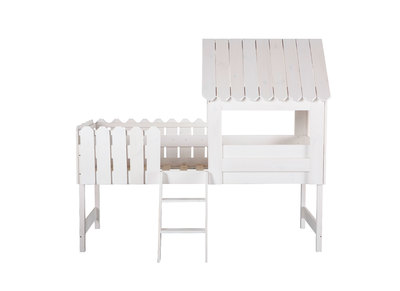 Lit cabane enfant blanc LITTLE HOUSE
