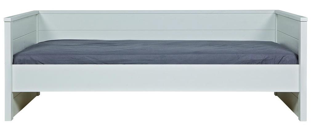 lit enfant en pin blanc gow miliboo. Black Bedroom Furniture Sets. Home Design Ideas