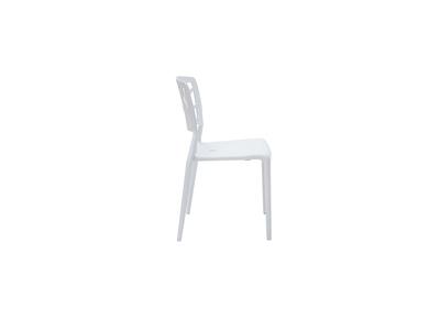 Lot de 2 chaises design blanches KATIA