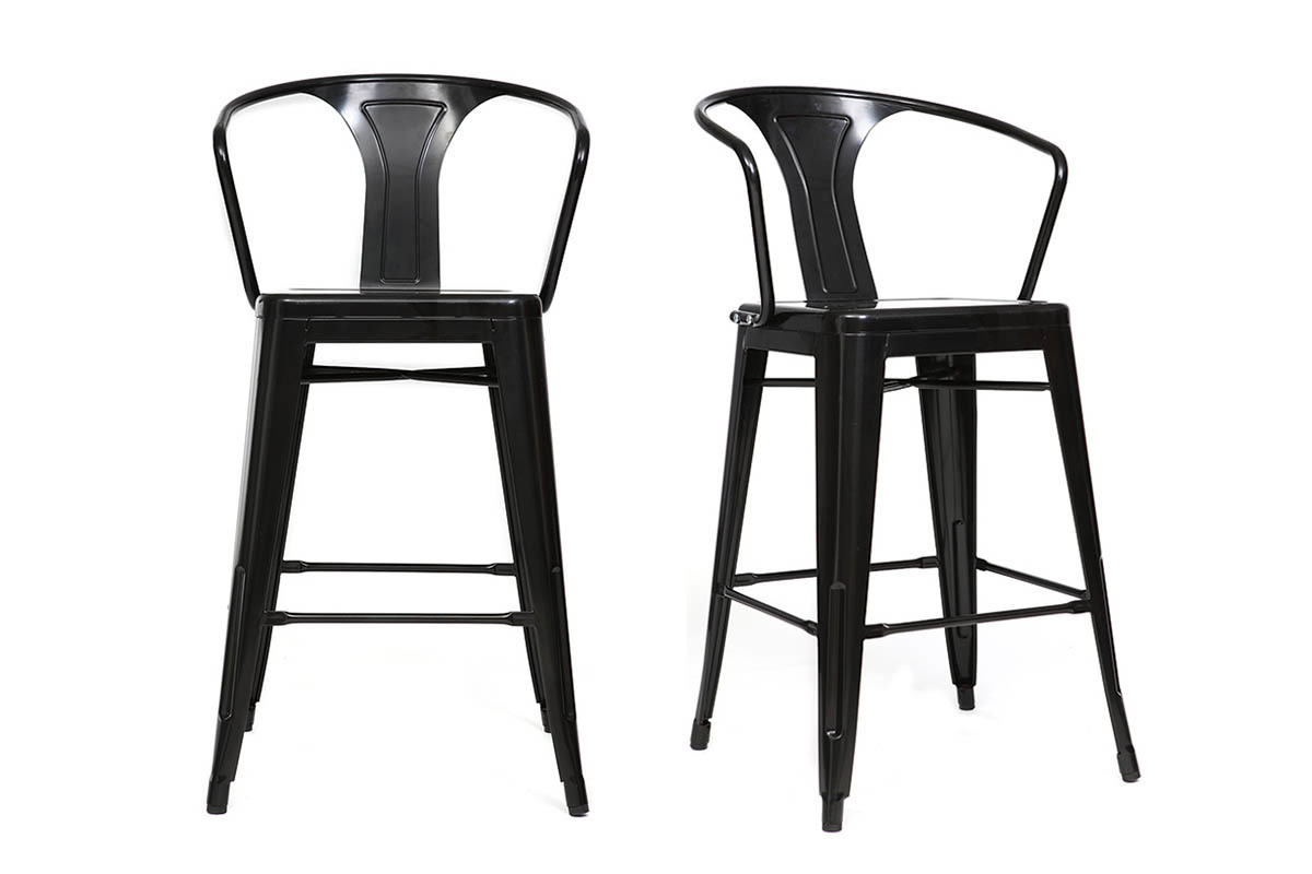 chaises hautes bar chaise haute bar bois chaises. Black Bedroom Furniture Sets. Home Design Ideas
