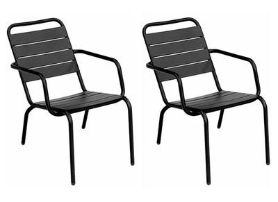 Chaise de jardin meubles de jardin pas cher miliboo - Chaise aluminium exterieur ...