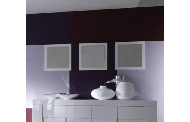 Lot de 3 miroirs design enoria blanc miliboo for Miroir des modes 427
