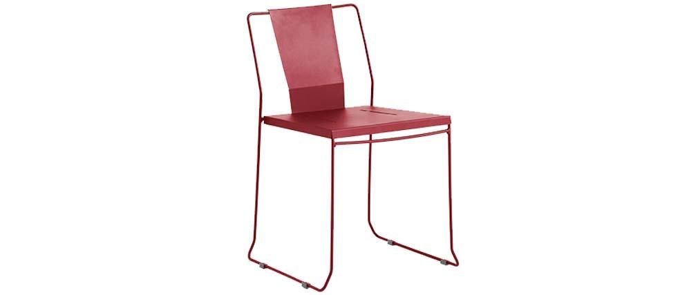 Lot de 4 chaises d